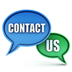 Get in touch...Contact us.